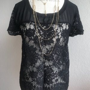 Torrid lace blouse